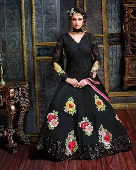 Amazing Black Anarkali Gown