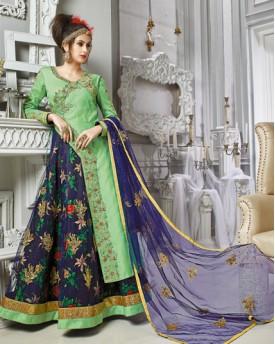 Anarkali Worked Gown