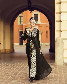 Black Amazing Revamping Gown style