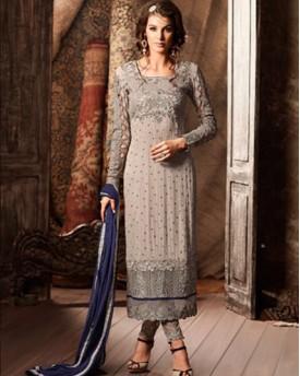 Designer Georgette Top Salwar Kameez
