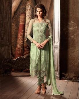 Amazing Salwar With Net Top