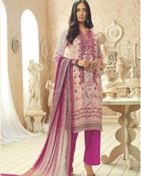 Amazing Cotton Silk Embroidery Salwar Kameez