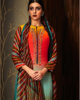 Heavy Embroidery Style Salwar Kameez