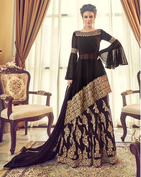 Black Anarkali Suit